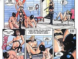 Adult sex comic mistress and slave games.