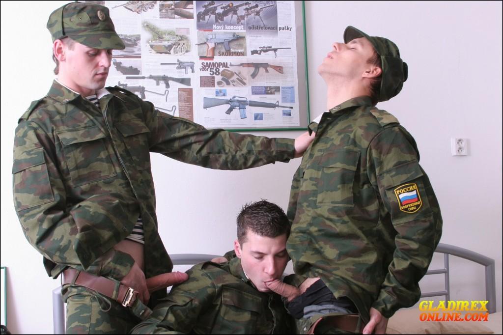 Секс в русской армие