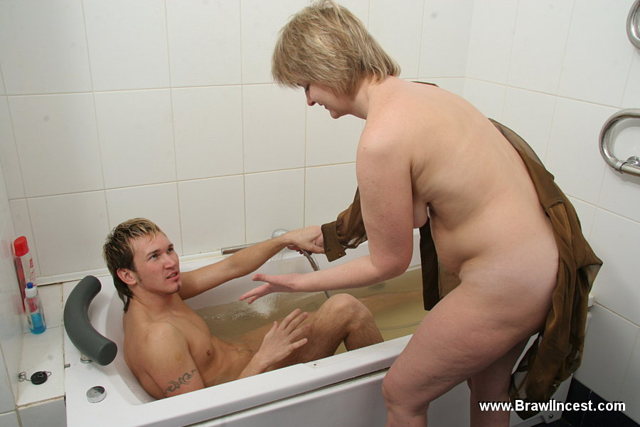 Version has bath with son mom regret
