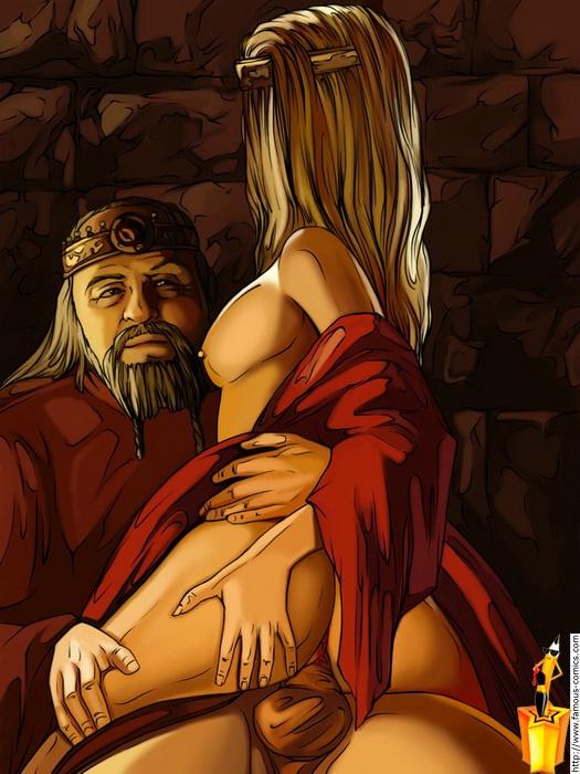 beowulf cartoon porn