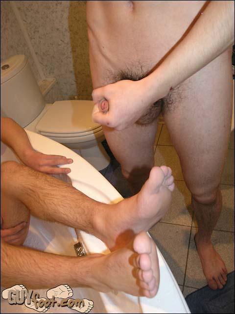 gay toe job