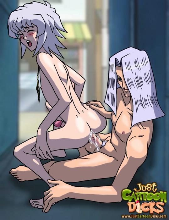 Innocent Yu-Gi-Oh! game turns into gay insanity.