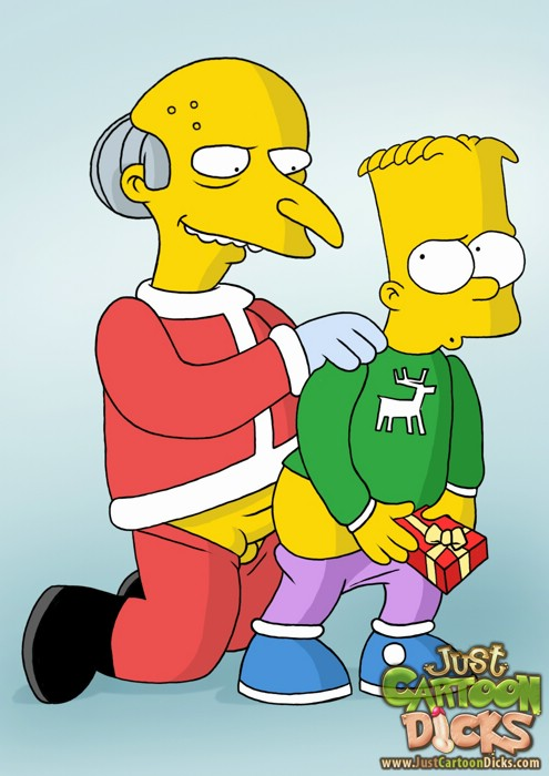 Christmas gay fucking from Simpsons and Futurama. (hot-christmas-gay