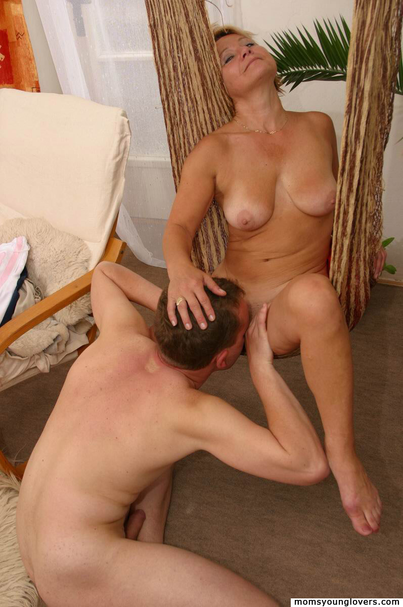 Sexy Milf Seduces Boy