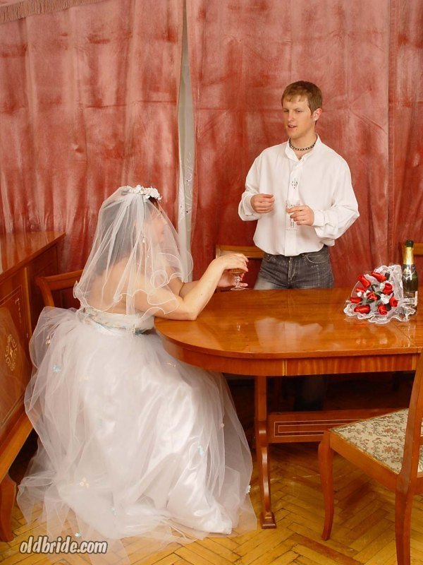 Male maid for a mature matron