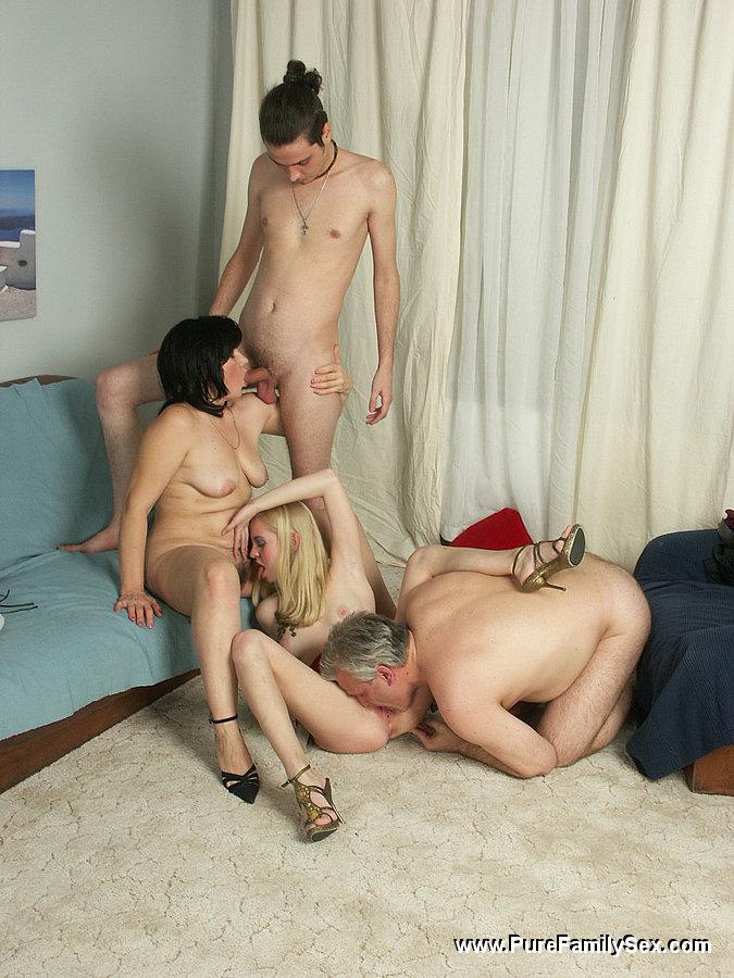 dad birthday turns orgy